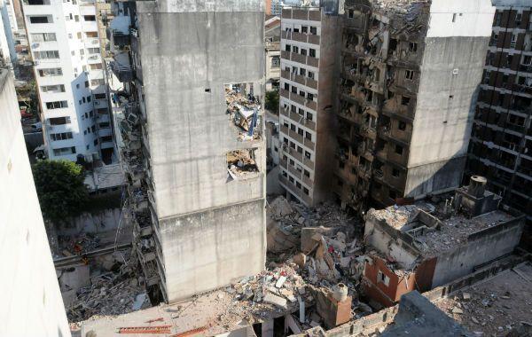 Las perdidas tras la explosión en el radio de 15 metros de la zona cero son cuantiosas.