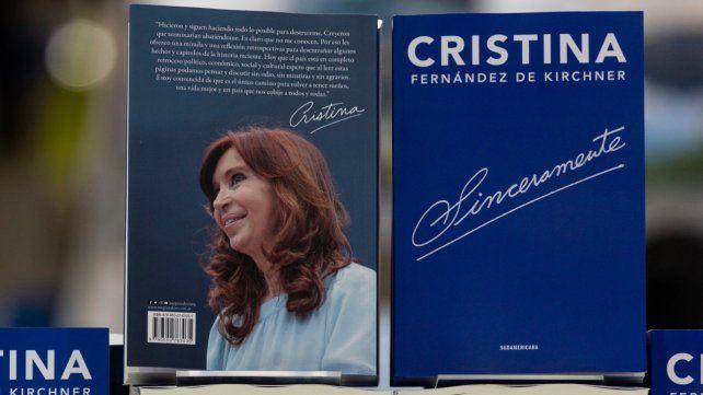 Cristina. La ex presidenta publicó su libro de memorias Sinceramente.