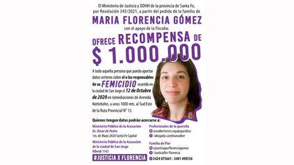 La familia recordó la oferta de recompensa para quien acerque datos que permitan dilucidar quién o quiénes son los responsables del femicidio de la militante feminista.