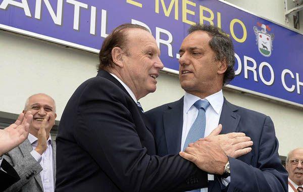 El gobernador Scioli inauguró obras del hospital municipal de Merlo