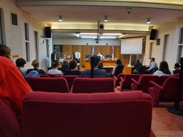 Al fiscal suspendido, Mauro Blanco, lo acusaron de 9 ilícitos de los cuales 4 tuvieron evidencias concretas. (Gentileza: Norma Migueles)