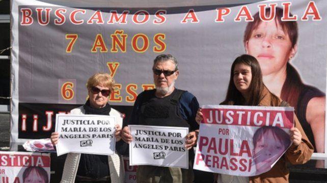 Pedido de años. Los padres de Paula y el reclamo de justicia.