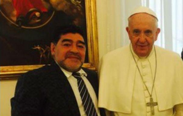 Diego y el Sumo Pontífice se encontraron por tercera vez.