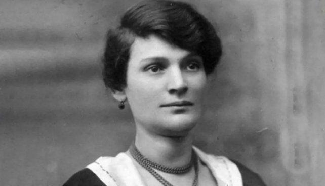 Raquel Liberman, la verdadera, que vivió en Buenos Aires.