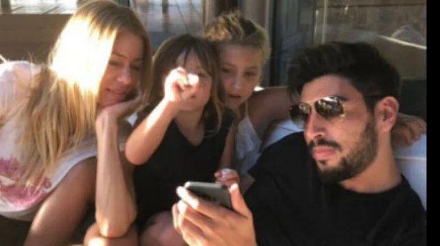 Nicole Neumann reveló que pasó entre sus hijos y Facundo Moyano