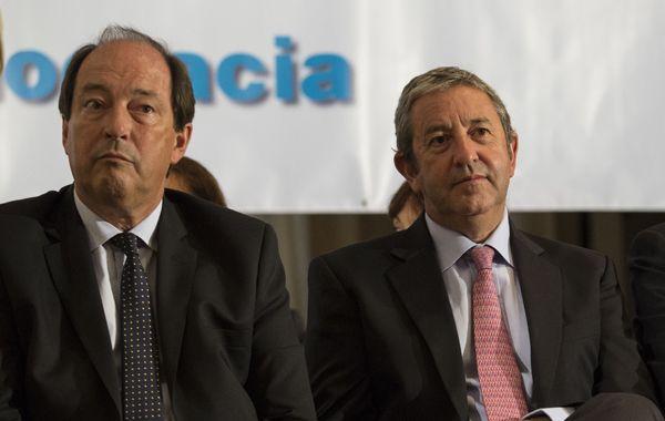 El senador Ernesto Sanz y el diputado Julio Cobos