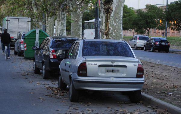 Los robos de autos se produjeron en las cuadras aledañas al centro comercial y al parque Scalabrini Ortiz.