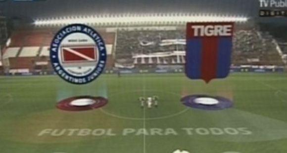 Tigre, de gran campaña, cantó victoria ante Argentinos Juniors