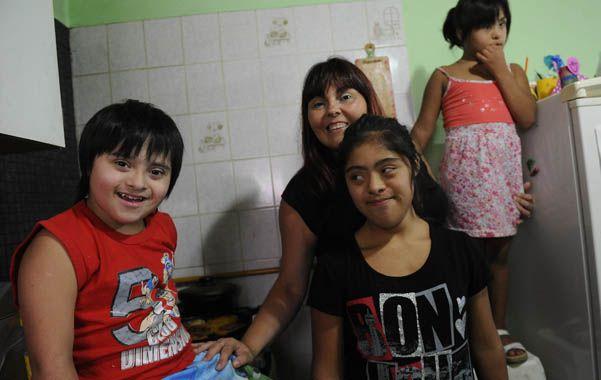 luchadora. Alicia asegura que son muchas las familias con problemas para acceder a prestaciones médicas. (H.Rio)