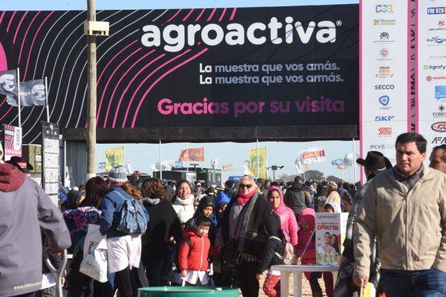Este año Agroactiva se realizará en forma virtual del 27 al 30 de octubre.