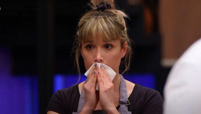 Ni las lágrimas salvaron a Sofía Pachano del reto de Donato de Santis en MasterChef Celebrity