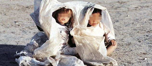 Los nenes alejados de sus familiares son quienes sufrieron maltrato