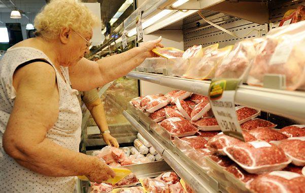Consumo. La carne es uno de los productos más sensibles de la canasta. (foto: Celina Mutti Lovera)