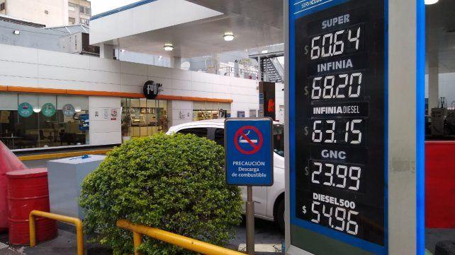 Los precios que rigen desde este miércoles en Mitre y Urquiza.