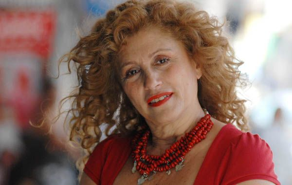 Alicia Zanca actuó en TV en Alta comedia y Chiquititas y se lució en cine en los 80 con Flores robadas en los jardines de Quilmes.