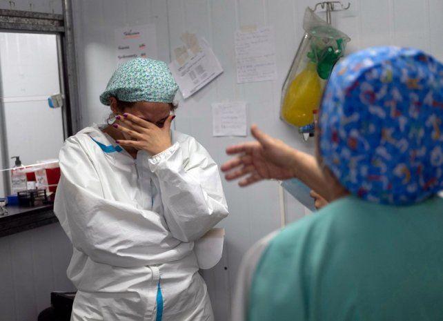 El personal de salud está muy agotado y tiene alta sensación de frustración