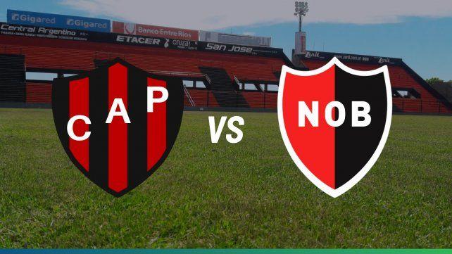 Newells visita a Patronato en busca de un triunfo que lo deje puntero solo en la liga