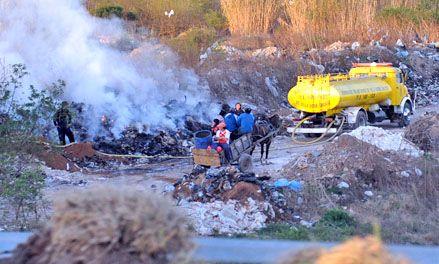 Villa G. Gálvez: en sólo un mes, el basural ardió al menos 36 veces