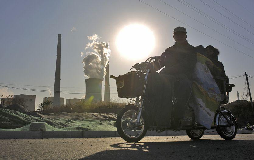 Las industrias contaminantes son una de las principales responsables del efecto invernadero.