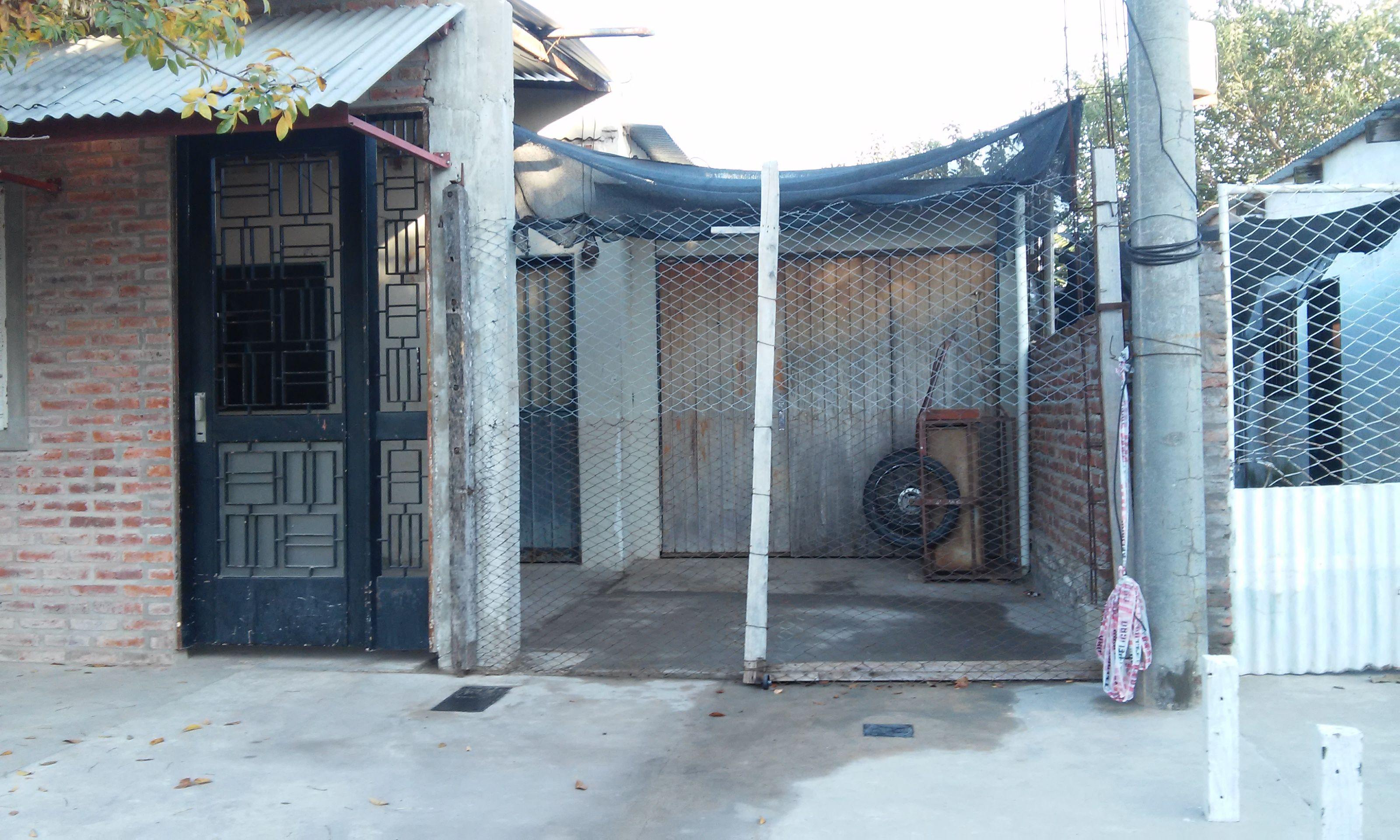 El lugar donde se produjo el homicidio en barrio Santa Lucía. (Foto: Sebastián S. Meccia)