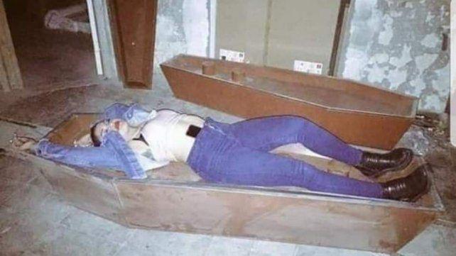 Una de las participantes de la fiesta clandestina en Las Rosas