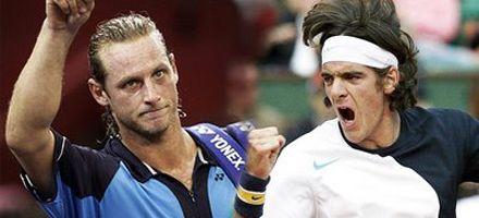 Amigos son los amigos: Nalbandian y Del Potro jugarán el dobles de Indian Wells