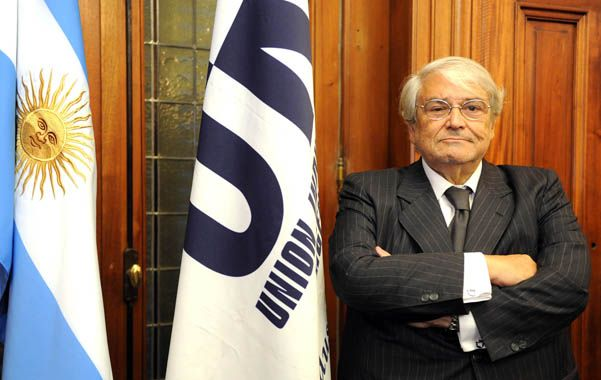 Número puesto.  Héctor Méndez será el nuevo presidente de la UIA.