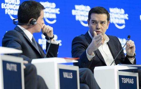 El primer ministro griego en Davos