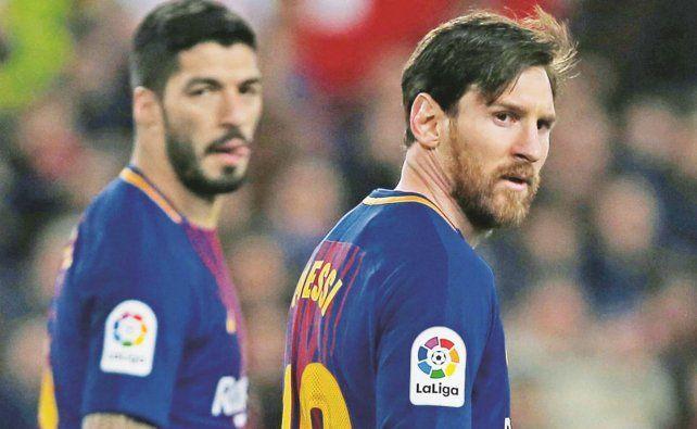 Messi despidió a Luis Suárez con un fuerte mensaje contra el presidente del Barcelona