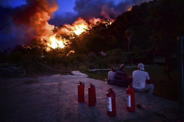 Los devastadores incendios forestales en Turquía