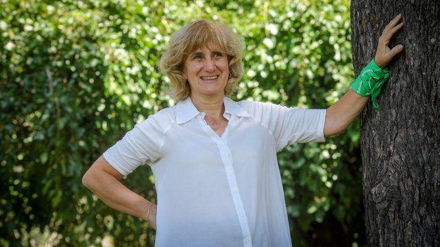 Silvia Augsburguer, feminista y militante de la Campaña Nacional por el Derecho al Aborto Legal, Seguro y Gratuito.