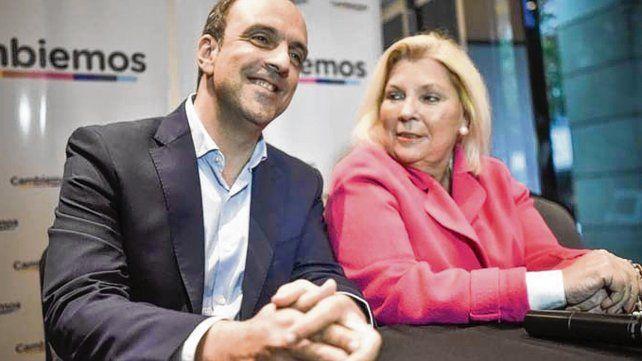 Lilita Carrió vilvió a Santa Fe para avalar la candidatura de Corral.