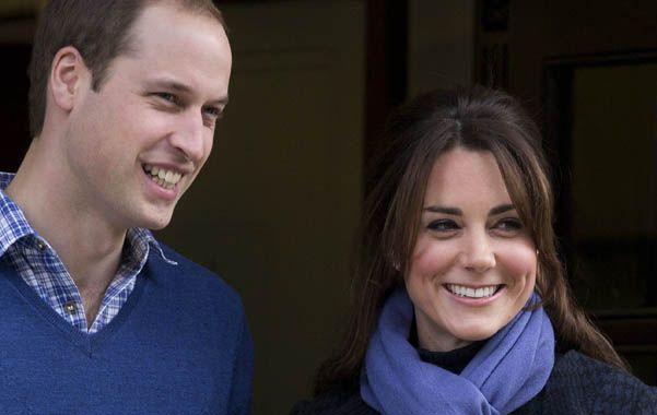 Felices. Guillermo y Kate revitalizaron la relación de la monarquía con la sociedad británica.