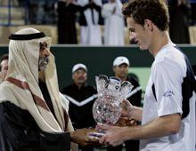 Murray abrió el año con una victoria sobre Nadal en el torneo de Abu Dhabi