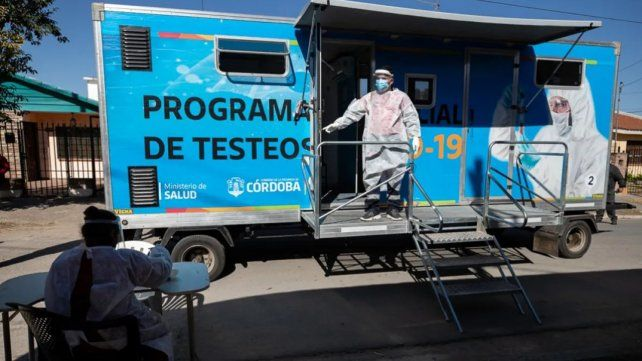 La provincia de Córdoba sigue batiendo récords de contagios por coronavirus