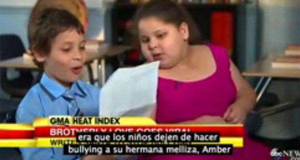 Un chico adelantó su carta y le pidió a Papá Noel que frenen con el bullying a su hermana