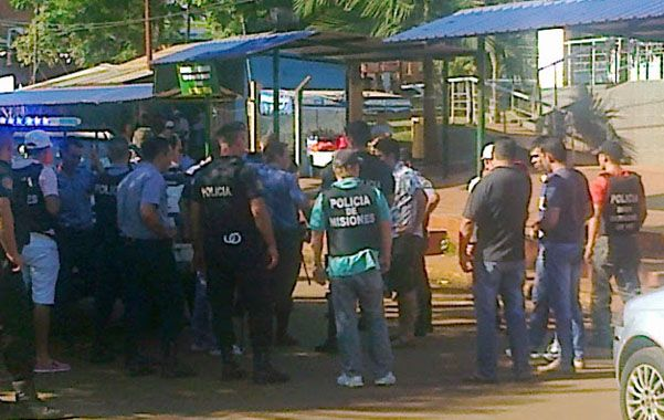 Policías de Misiones y de Brasil buscan a los prófugos. (Gentilez MisionesOnLine)