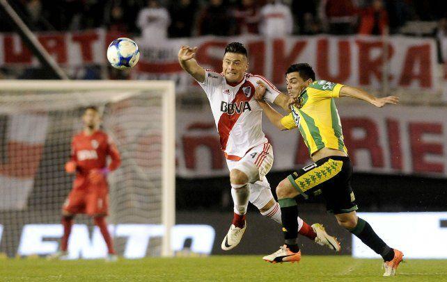 Se lo pierde. Jorge Moreira sufrió una lesión muscular en el isquiotibial izquierdo.