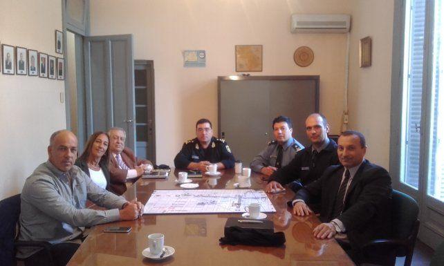 Comenzarán a reforzar las medidas de seguridad para la zona céntrica de la ciudad