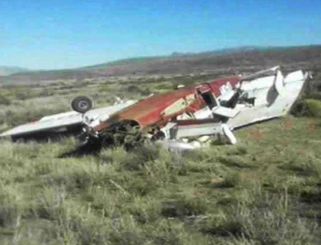 El accidente se produjo ayer a pocos minutos del despegue de la máquina que se dirigía al aeropuerto de la ciudad de Neuquén.