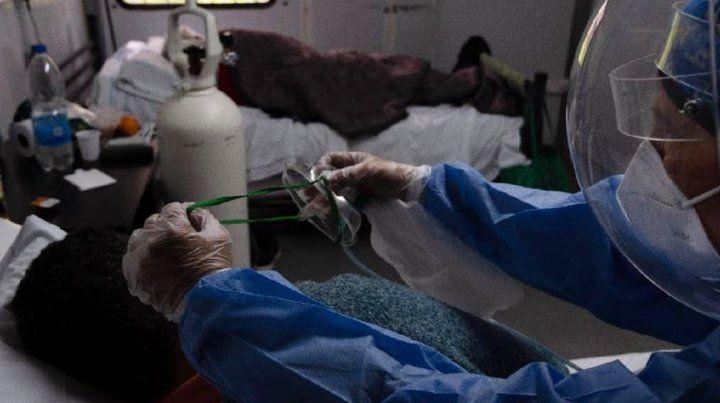 La falta de camas está produciendo un colapso sanitario en la provincia