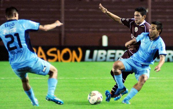 Lanús ahora debe ir a buscar una victoria a la altura de La Paz para acceder a semifinales.