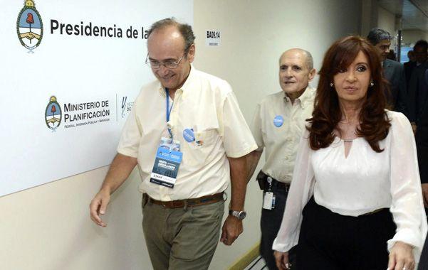 en movimiento. Cristina puso en funcionamiento la central Atucha ll en la localidad bonaerense de Zárate.