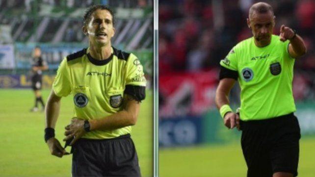 Nicolás Lamolina estará en el Gigante y Diego irá al estadio Ciudad de Lanús.