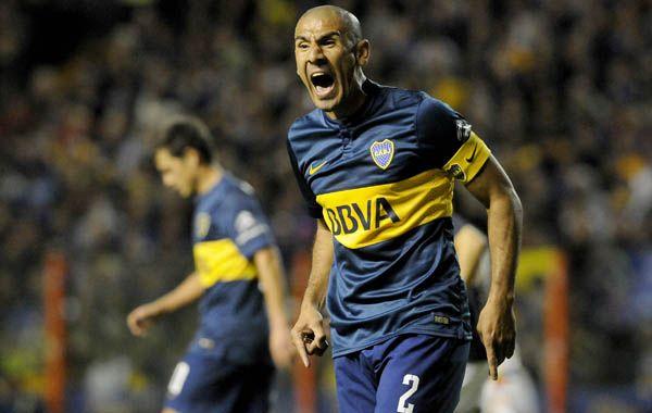 El Cata Díaz tuvo un momento de furia en el final del partido de ayer.