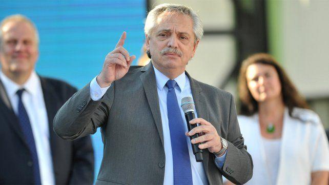 El presidente Alberto Fernández le bajó el tono a la posibilidad de aumentar las tarifas de los servicios públicos.