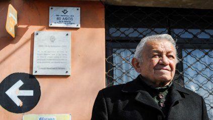 José Mármol regresa cada año a la esquina de Ovidio Lagos y 27 de Febrero.