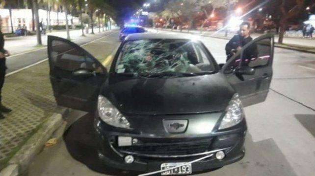 Peugeot 307. El auto que conducía Matías E. el sábado pasado durante la madrugada.