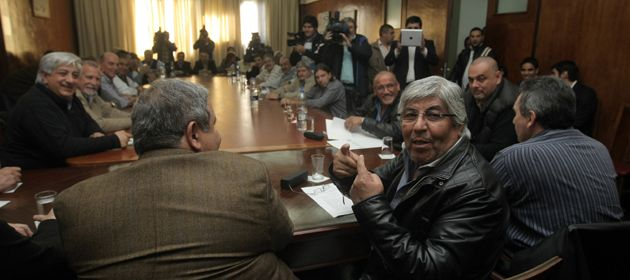 Otros tiempos. Reunión del comité confederal de la CGT