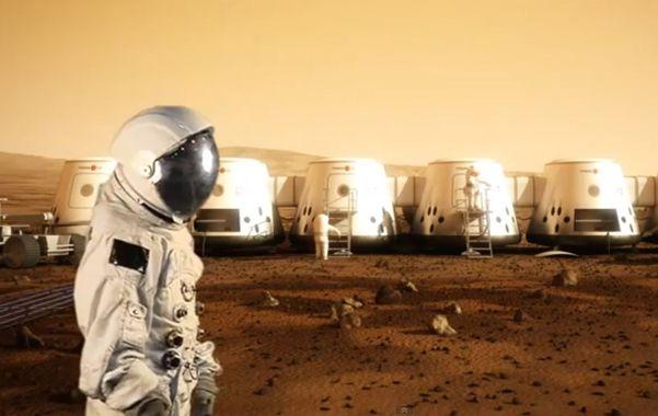 Peligroso. Recreación digital de un proyecto de colonia marciana.